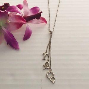 Tiffany Lariat Necklace